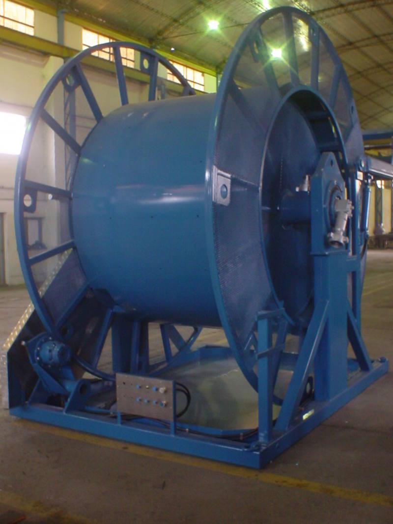 Coil Tubing Units Reel : Talleres metalúrgicos mazzeo